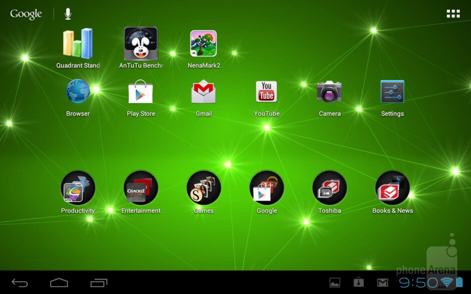 The Toshiba Excite 7.7 keeps the vanilla Android 4.0.3 Ice Cream Sandwich experience - Toshiba Excite 7.7 Review
