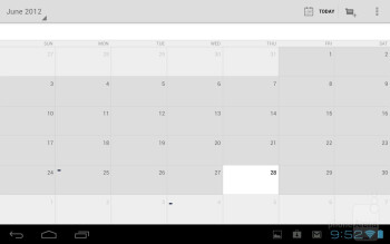 Core organizer apps - Toshiba Excite 7.7 Review