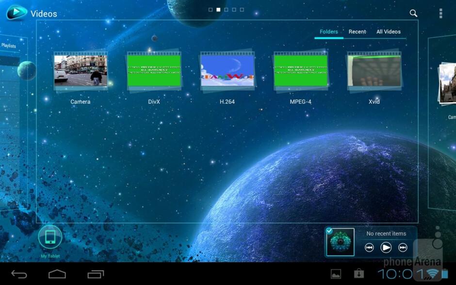 Toshiba's music player - Toshiba Excite 7.7 Review