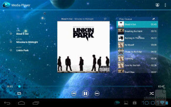 Toshiba's music player - Toshiba Excite 7.7 Review