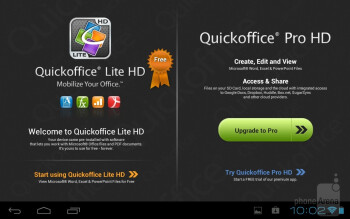 Third party apps on the Toshiba Excite 7.7 - Toshiba Excite 7.7 Review
