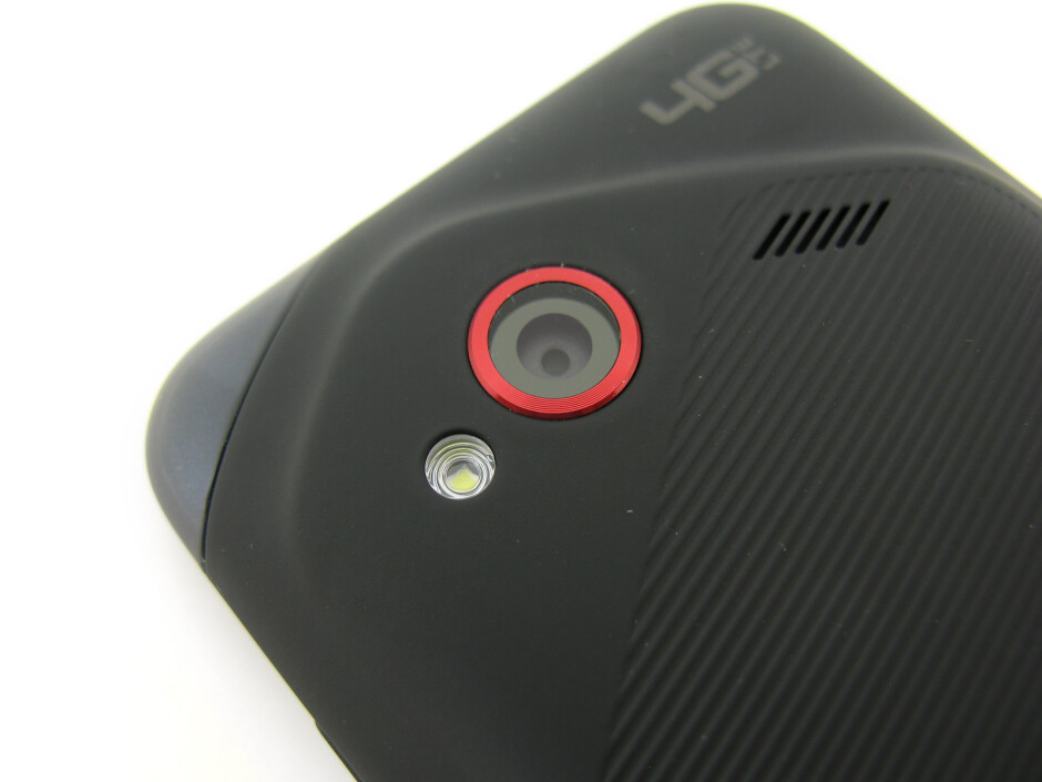 Rear camera - HTC Droid Incredible 4G LTE Review