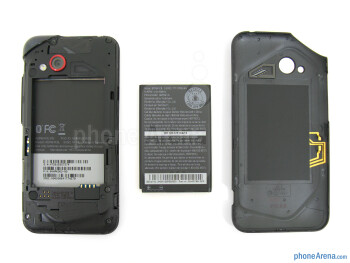 Battery compartment - HTC Droid Incredible 4G LTE Review