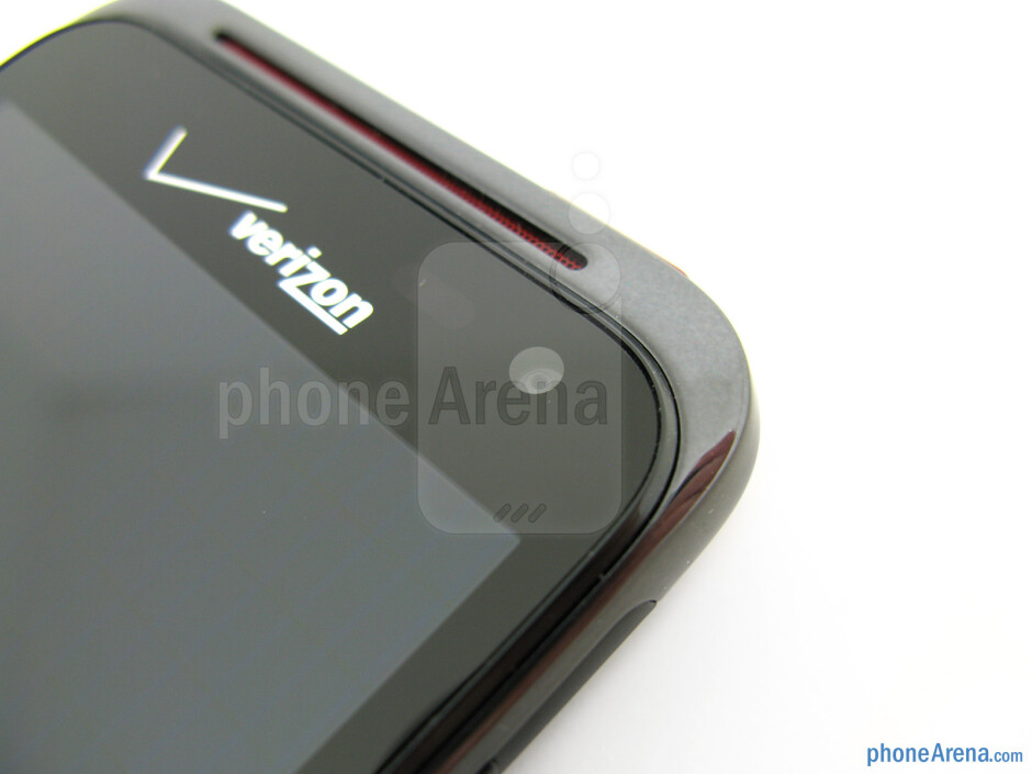 Front-facing camera - HTC Droid Incredible 4G LTE Review