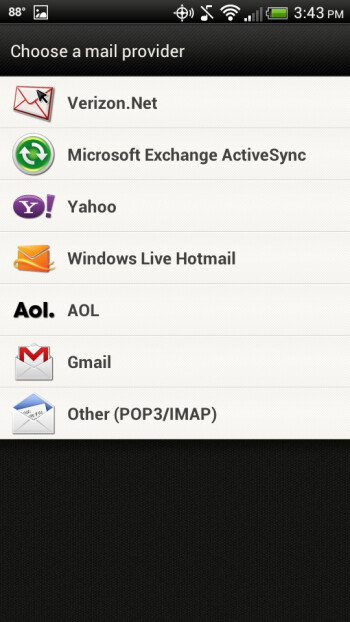 Email - HTC Droid Incredible 4G LTE Review