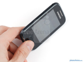 The Samsung Galaxy Pocket is constructed out of plastic, and has a relatively light weight - Samsung Galaxy Pocket Review