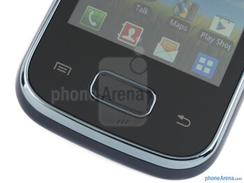 Android buttons - Samsung Galaxy Pocket Review