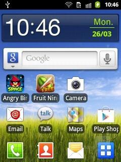 The Samsung Galaxy Pocket has Gingerbread, skinned with TouchWiz - Samsung Galaxy Pocket Review