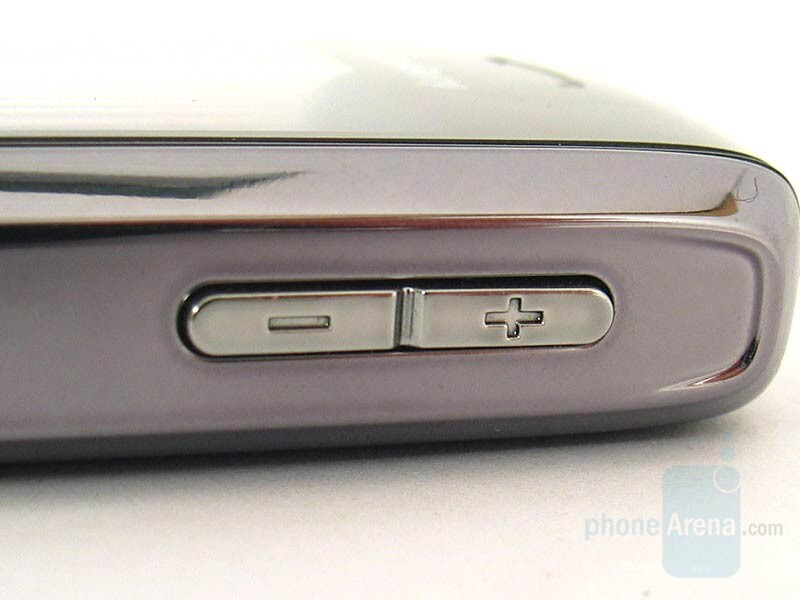 Volume control - RIM BlackBerry Pearl Review