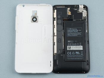 Battery compartment - Meizu MX Review