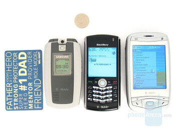 Samsung SGH-T719, BlackBerry Pearl, T-Mobile MDA - Samsung SGH-T719 Review