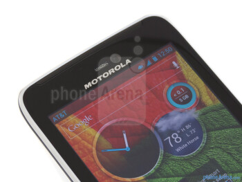 Front-facing camera - Motorola ATRIX HD Review