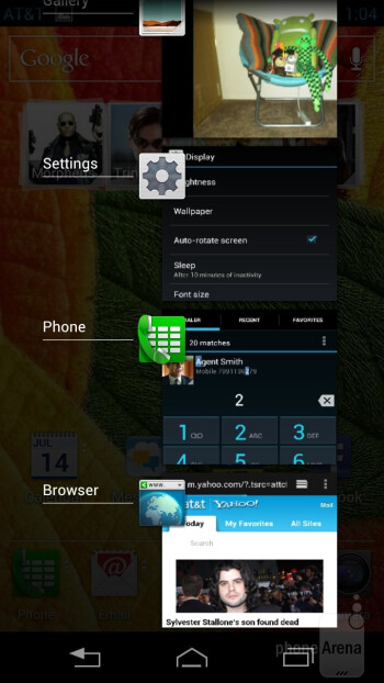 The Motorola ATRIX HD offers a mostly vanilla Android 4.0.4 Ice Cream Sandwich experience - Motorola ATRIX HD Review
