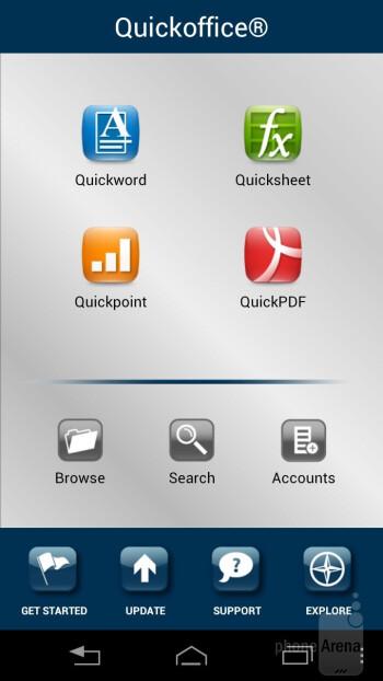 Preloaded apps on the Motorola ATRIX HD - Motorola ATRIX HD Review