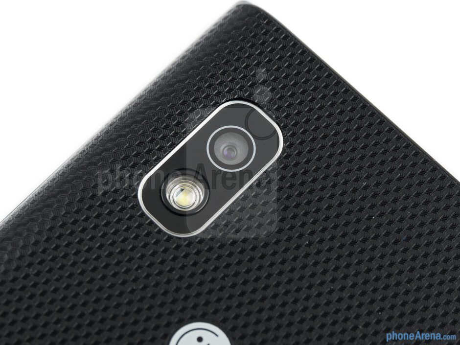 Rear camera - LG Optimus L5 Review