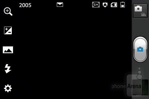 Camera interface - LG Optimus L5 Review