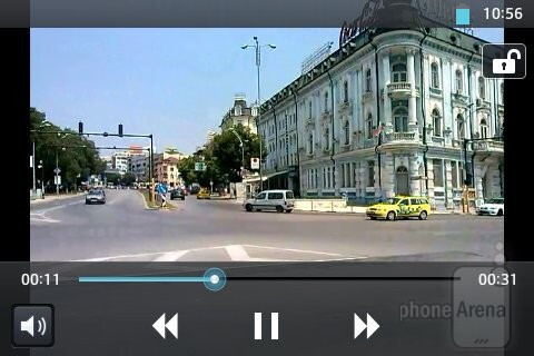 Video playback - LG Optimus L5 Review