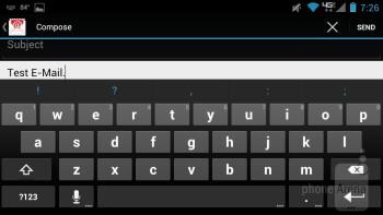 Motorola DROID RAZR MAXX - Virtual keyboards - Samsung Galaxy S III vs Motorola DROID RAZR MAXX
