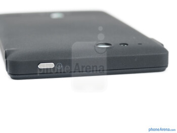Power key (top) - The sides of the Sony Xperia go - Sony Xperia go Review