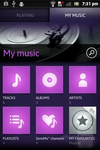 Music player - Sony Xperia go Review