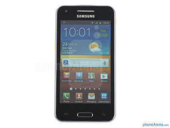 "The 4"" LCD screen - Samsung Galaxy Beam Review"