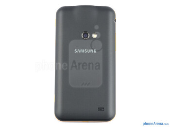 The Samsung Galaxy Beam feels and handles very well in the hand - Samsung Galaxy Beam Review