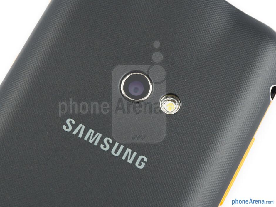 Rear camera - Samsung Galaxy Beam Review