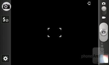 Camera interface - Samsung Galaxy Beam Review