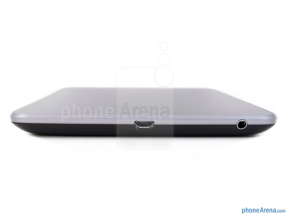 Bottom edge - The sides of the Google Nexus 7 - Google Nexus 7 Review