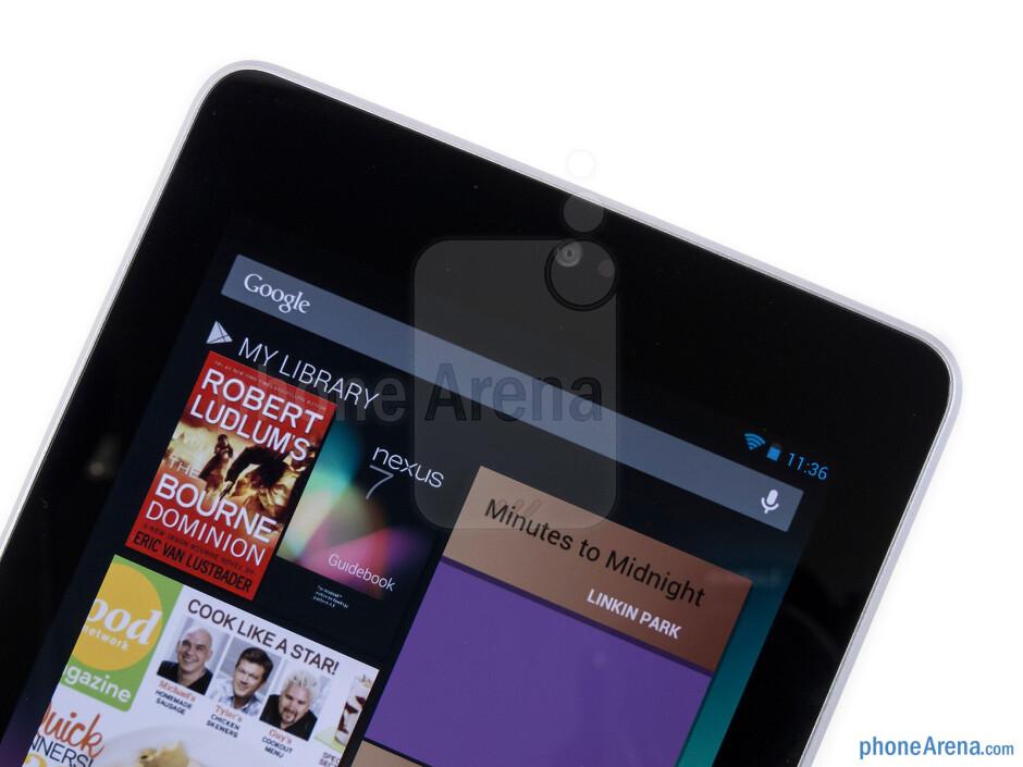 Front-facing camera - Google Nexus 7 Review