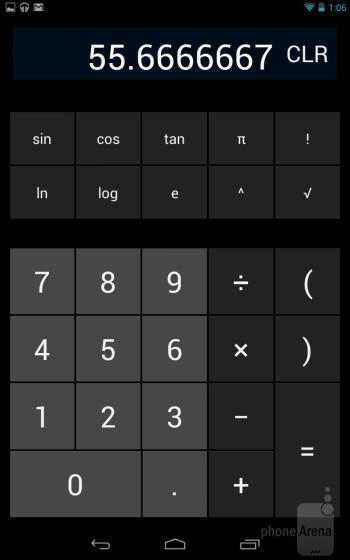 Core organizer apps of the Google Nexus 7 - Google Nexus 7 vs Apple iPad 3