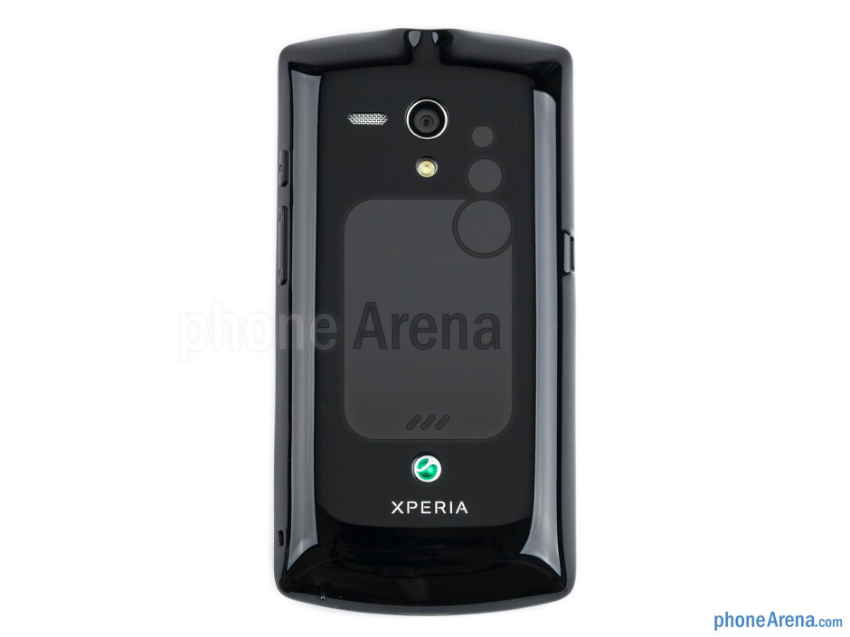 Back - The sides of the Sony Xperia neo L - Sony Xperia neo L Review