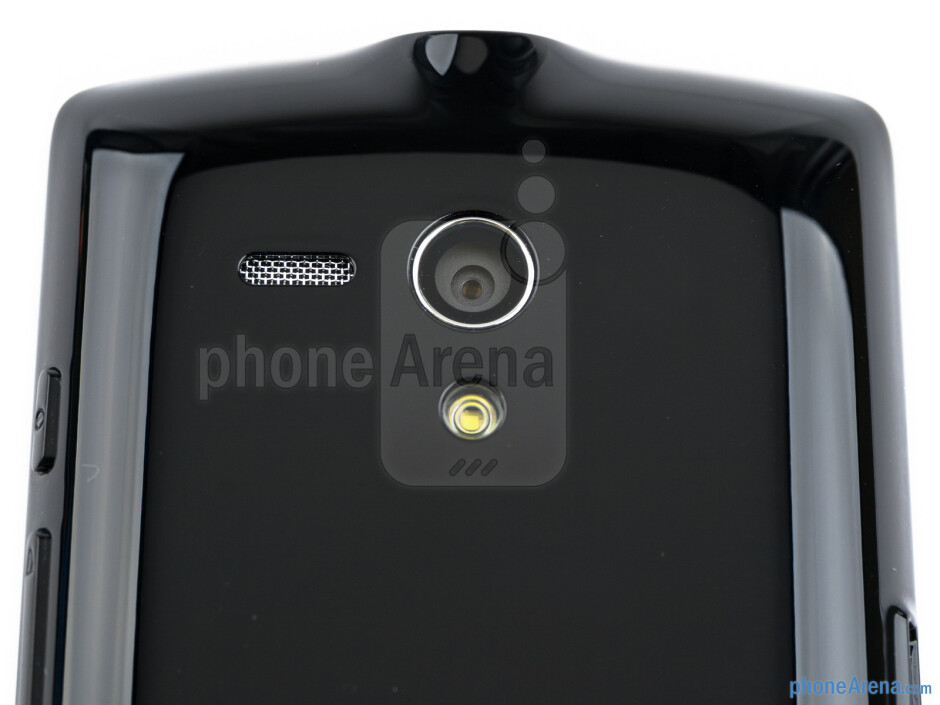 Rear camera - The sides of the Sony Xperia neo L - Sony Xperia neo L Review