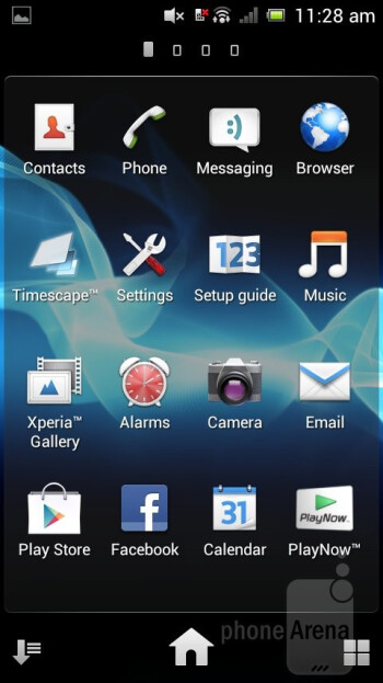 The Sony Xperia neo L can brag about arriving with Android 4.0.3 Ice Cream Sandwich on board - Sony Xperia neo L Review