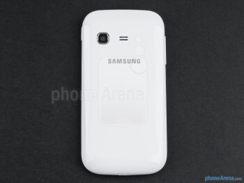 Back - The sides of the Samsung Galaxy Chat - Samsung Galaxy Chat Review