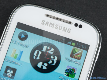 Front - Samsung Galaxy Chat Review