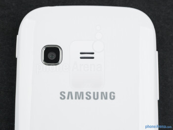 Camera - The sides of the Samsung Galaxy Chat - Samsung Galaxy Chat Review