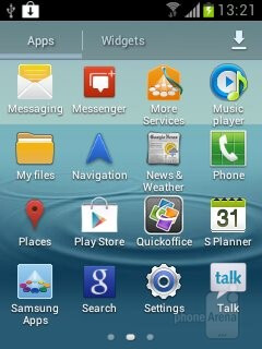 The Samsung Galaxy Chat arrives pre-loaded with Android Ice Cream Sandwich - Samsung Galaxy Chat Review