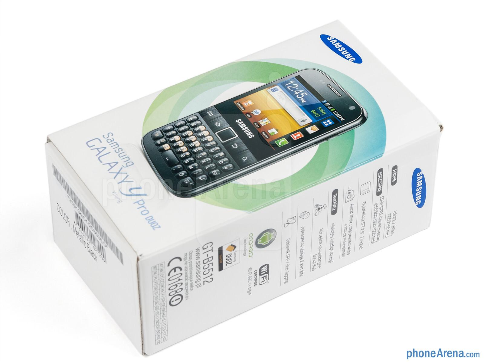 Samsung Galaxy Y Pro Duos Review - PhoneArena