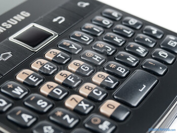 The keyboard of the Samsung Galaxy Y Pro Duos - Samsung Galaxy Y Pro Duos Review