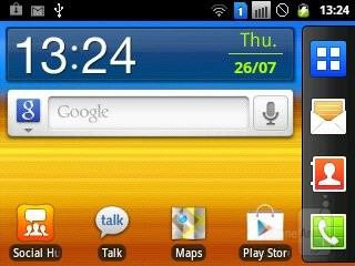 Android 2.3 Gingerbread runs pretty well on the Samsung Galaxy Y Pro Duos - Samsung Galaxy Y Pro Duos Review