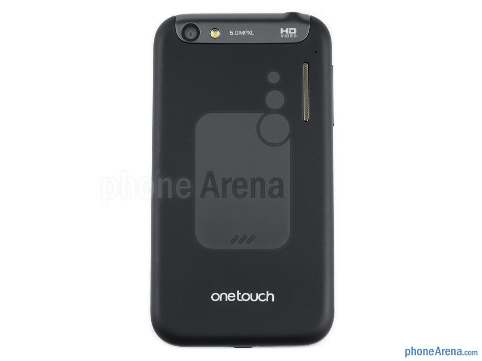 Back - Alcatel OT-995 Review