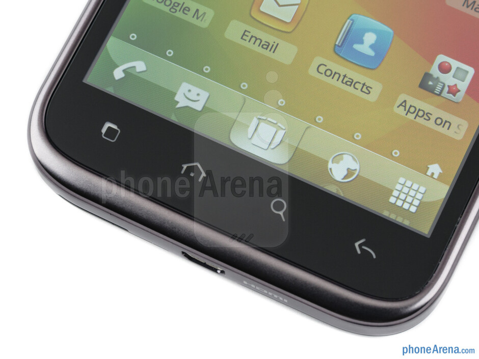 Android buttons - Alcatel OT-995 Review
