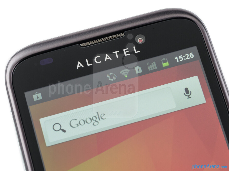 Front-facing camera - Alcatel OT-995 Review