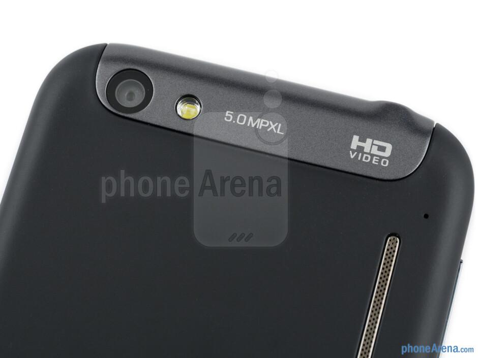 Rear camera - Alcatel OT-995 Review