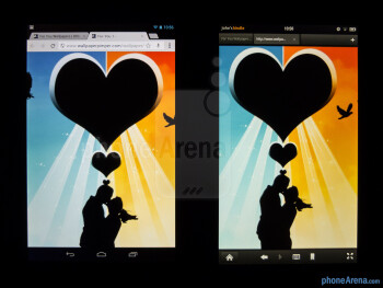 The Google Nexus 7 (left) and the Amazon Kindle Fire (right) - Google Nexus 7 vs Amazon Kindle Fire