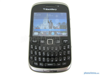 The QWERTY keypad - RIM BlackBerry Curve 3G 9310 Review