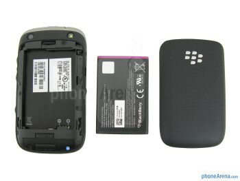 The sides of the RIM BlackBerry Curve 9310 - RIM BlackBerry Curve 3G 9310 Review
