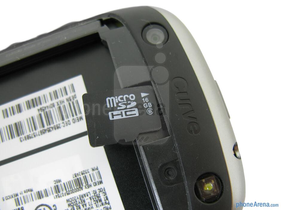 The sides of the RIM BlackBerry Curve 9310 - RIM BlackBerry Curve 3G 9310 Review
