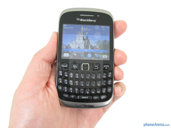 The RIM BlackBerry Curve 9310 closely resembles other BlackBerry devices - RIM BlackBerry Curve 3G 9310 Review